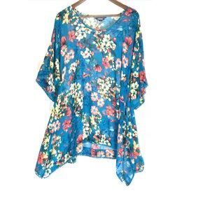 Other - Lands end tropical cover up size small